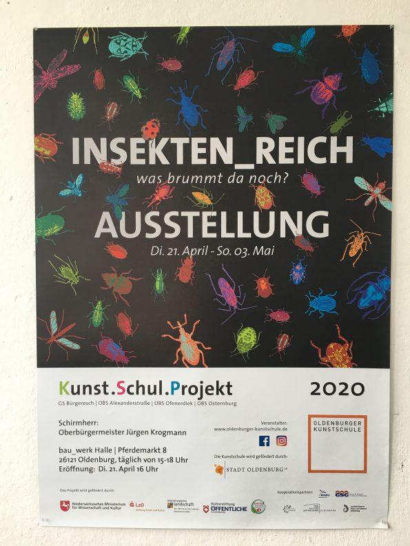 Ausstellung Insekten_Reich in der Bauwerkhalle am Pferdemarkt